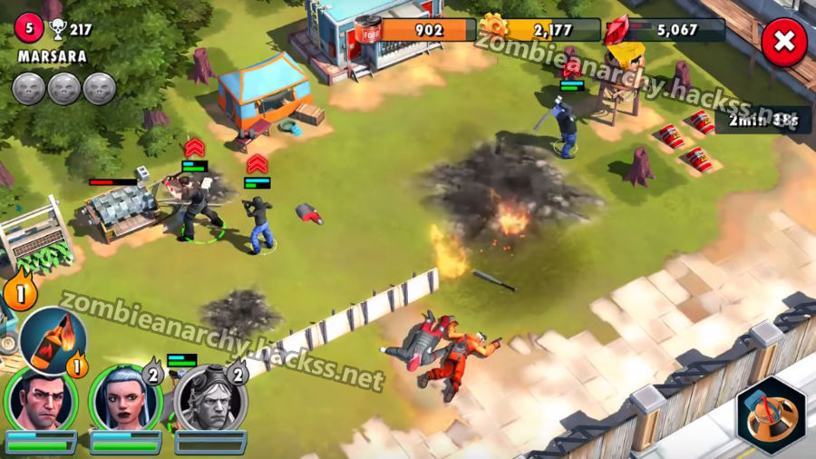 Bloodstones added by Zombie Anarchy Hack iOS, Android, Windows Phone